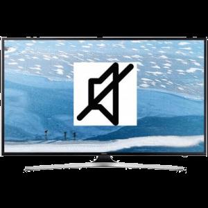 Нет звука у телевизора
