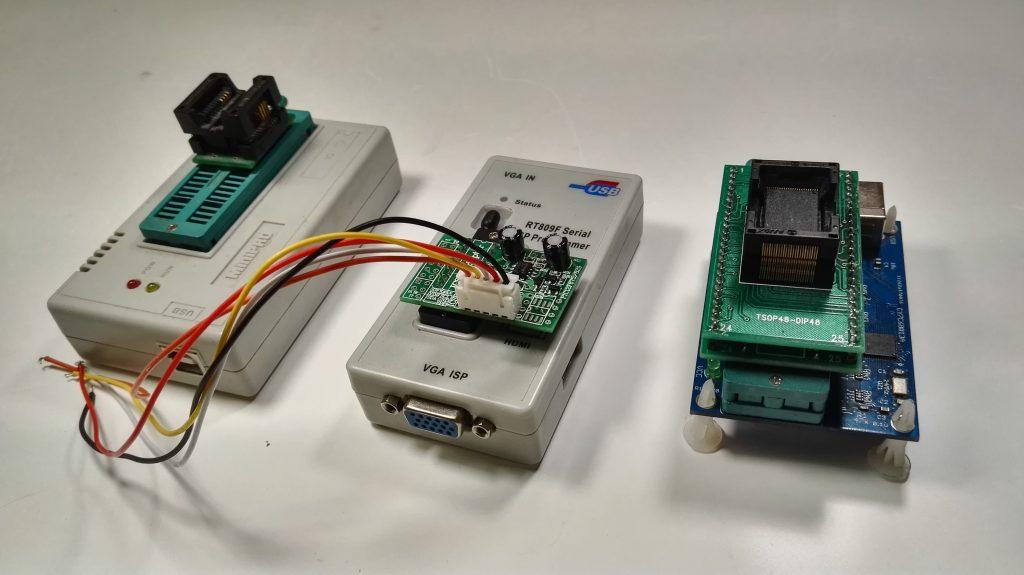 Программаторы MiniPRO TL866A, RT809F, Easy Nand Tiny Tools