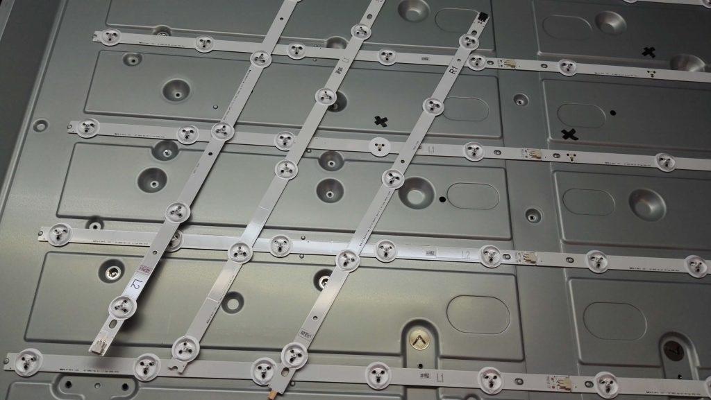 ремонт подсветки в телевизоре LG 42LA621V