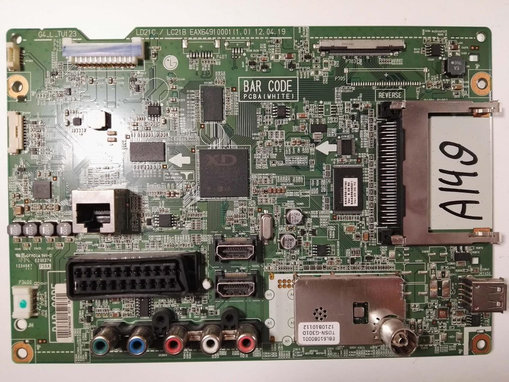 EAX64910001 (1.0) LD21C/LC21B G4_L_TU123 EBR75084309 42LS345T
