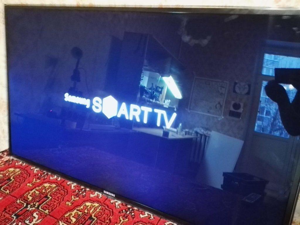 Ремонт телевизора Samsung UE46D6750. Прогрев BGA в материнской плате BN41-1587E. Прошивка EMMC.