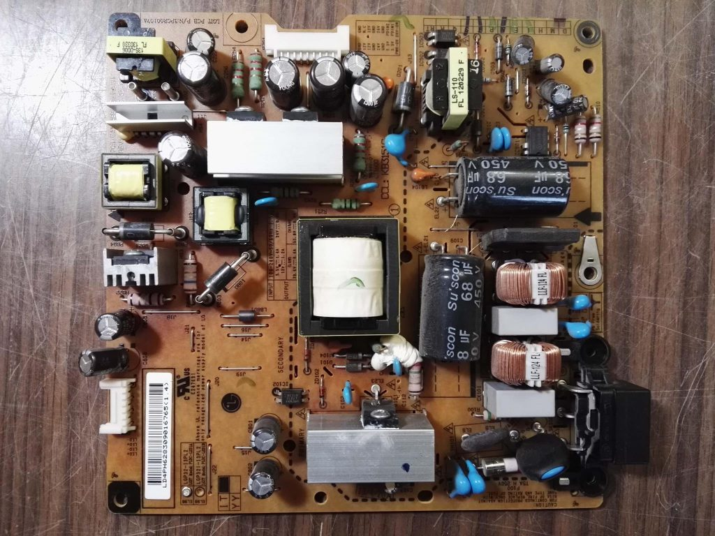 Доработка блока питания EAX64881301 3PCR00107A LGP32-13PL2 PLDC-L231A