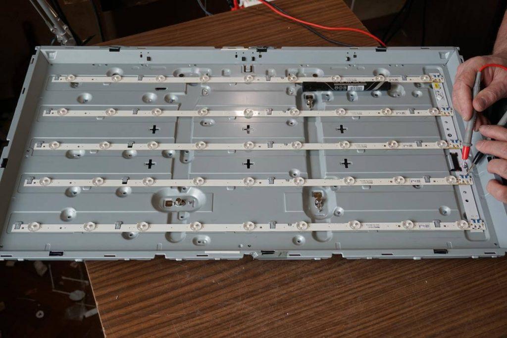 Ремонт подсветки телевизора Samsung UE32F6100AK