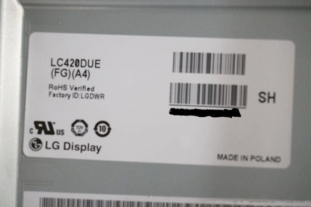 Матрица LG LC420DUE (FG)(A4)