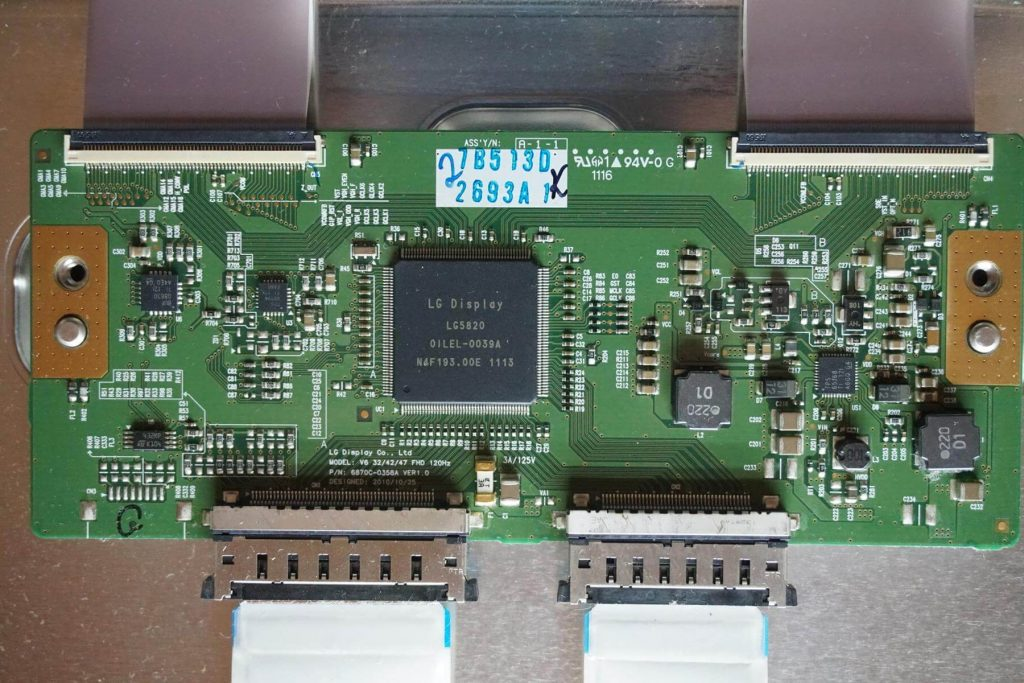 Плата T-CON 6870С-0358A.