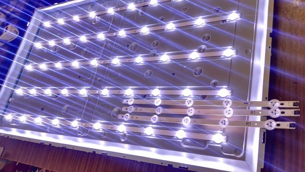 Ремонт подсветки телевизора LG 42LA620V