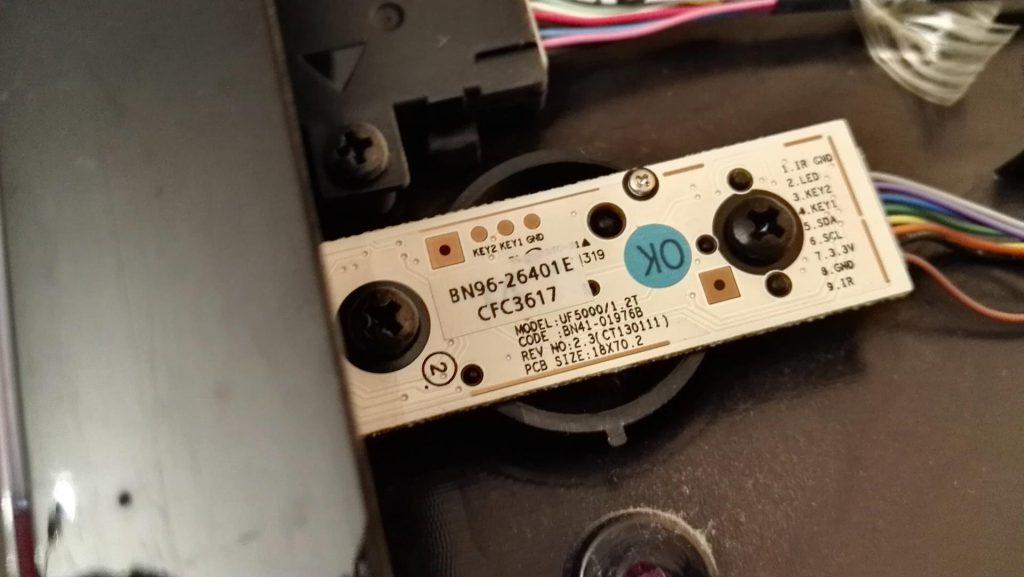Ремонт подсветки в телевизоре Samsung UE40F6320AW