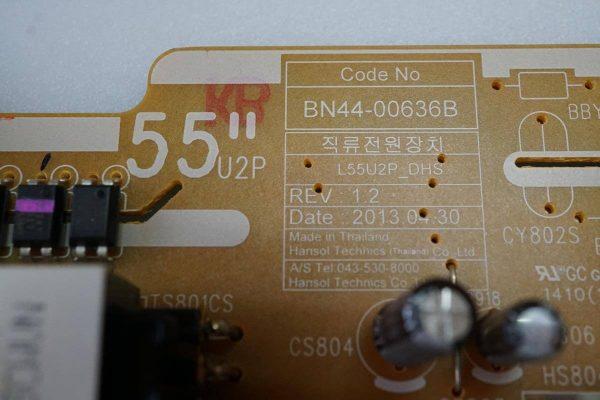 BN44-00636B L55U2P_DHS UE40F8000AT