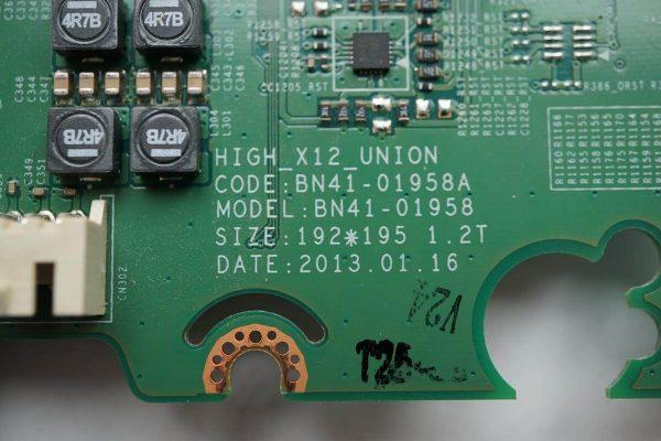 BN41-01958B BN41-01958 HIGH_X12_UNION BN94-06758T UE32F6330AK