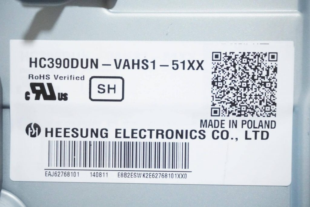 Матрица HC390DUN-VAHS1-51XX