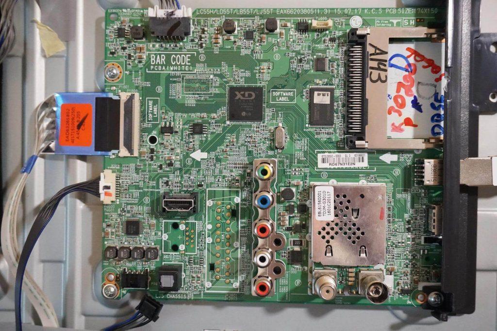 Майн плата EAX66203805 платформа LC55H/LD55T/LB55T/LJ55T