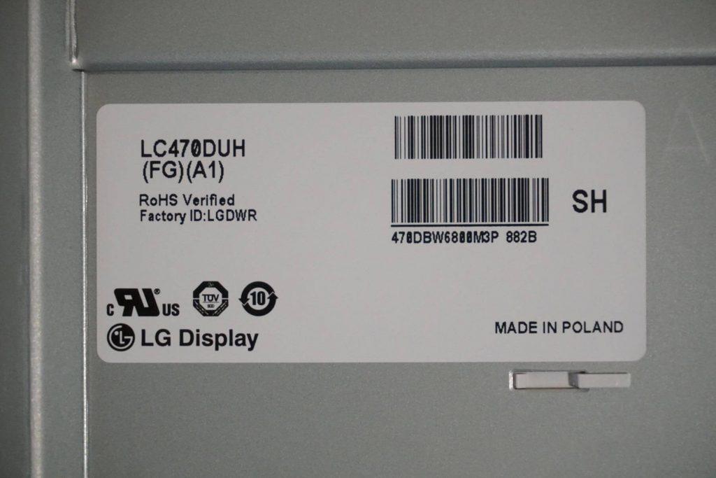 Матрица LC470DUH (FG)(A1)