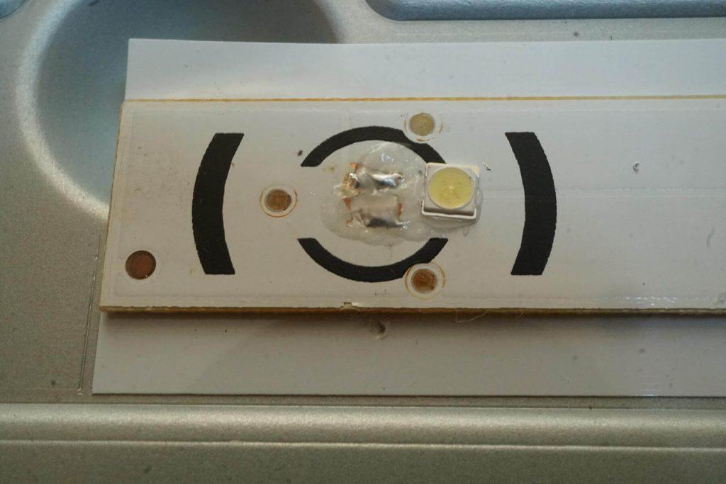 Ремонт подсветки телевизора LG 32LF550U