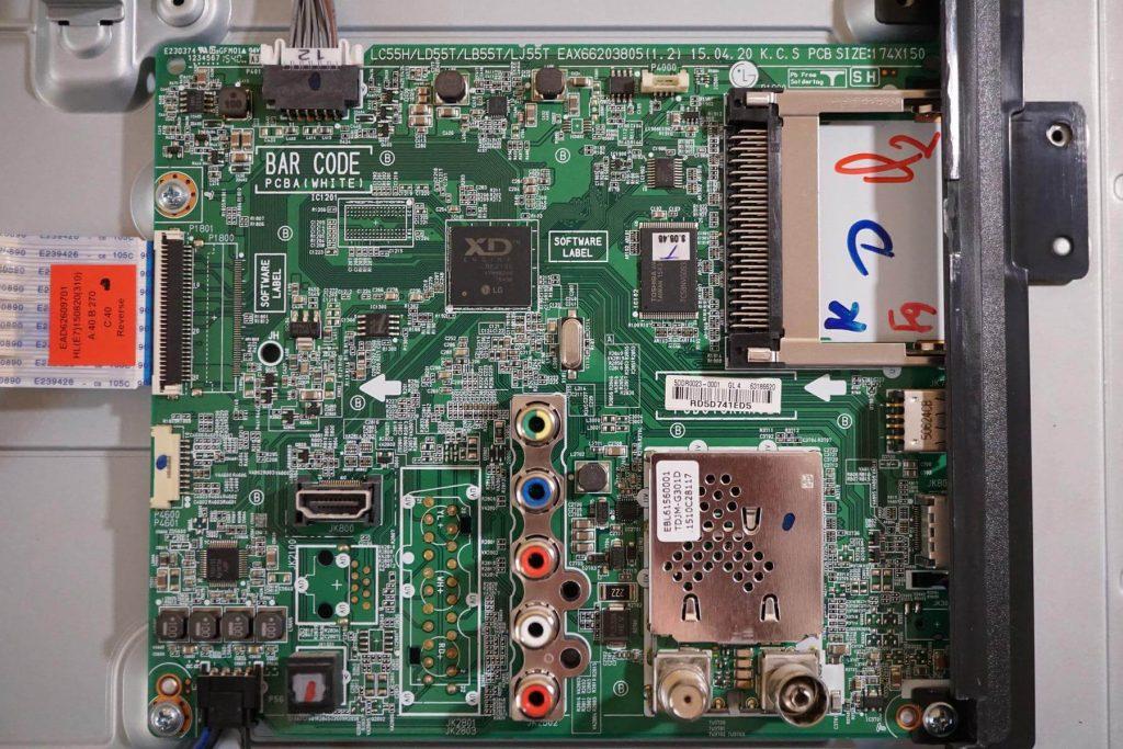 майн плата EAX66203805 на платформе LC55H/LD55T/LB55T/LJ55T.