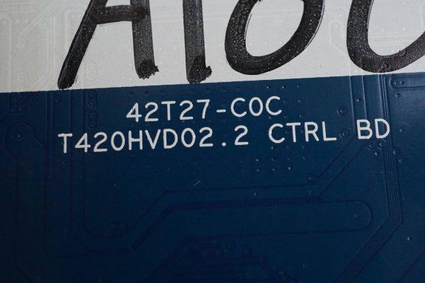 42T27-C0C T420HVD02.2 CTRL BD AUO 39LA620V
