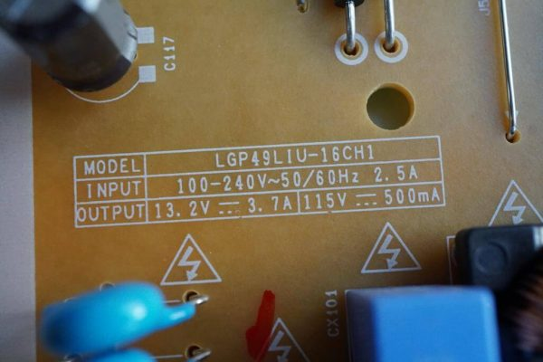 EAX66923201 EAY64388811 LGP49LIU-16CH1 49UH610V