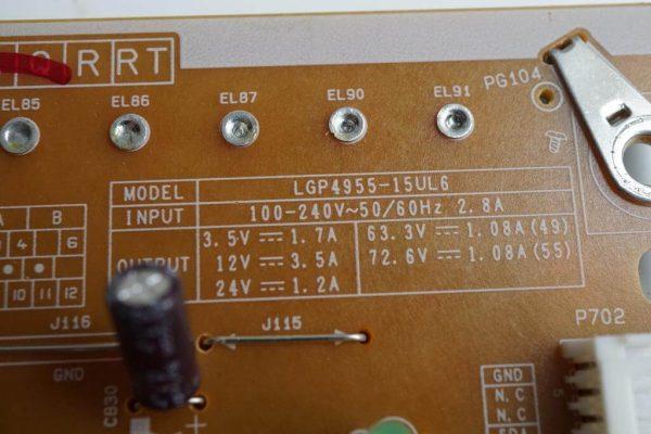 EAX65691001 EAY63729101 LGP4955-15UL6 55UF850V
