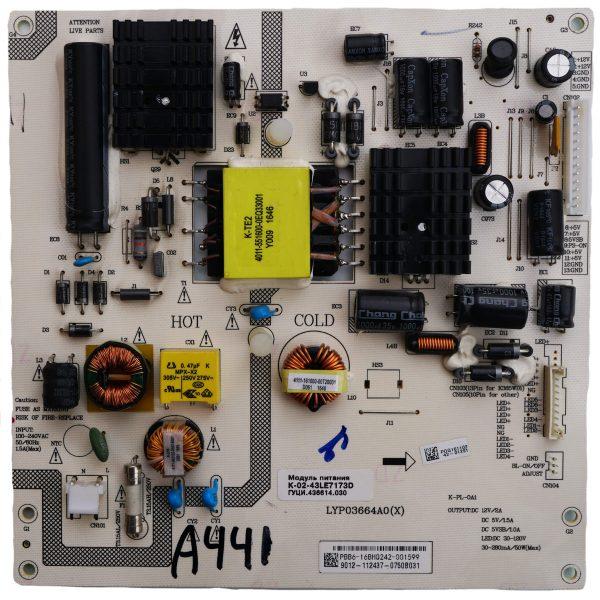 LYP03664A0(X0) 4702-2PL0A1-AB133V01 43LE7173D